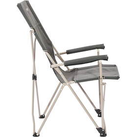 CAMPZ Vouwstoel hoge Rugleuning, anthracite